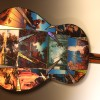 John Crutchfield of Metallic Art Graphics is comissioned to do a Maxfield Parrish Guitar